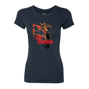 Ray Donovan Mondo Art Women's Slim Fit T-Shirt