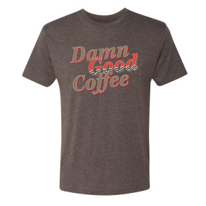 Twin Peaks Damn Good Coffee Chevron T-Shirt