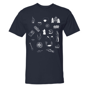 Twin Peaks Icons T-Shirt