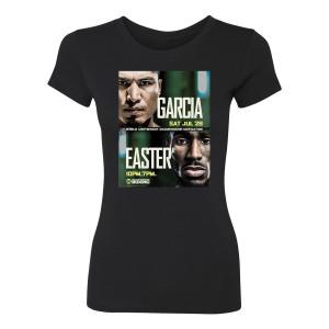 Garcia Easter Jr. Logo Women's Slim Fit T-Shirt (Black)