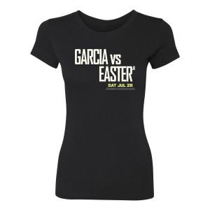 Garcia vs Easter Jr. Women's Slim Fit T-Shirt (Black)