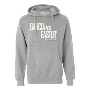 Garcia vs Easter Jr. Hoodie (Heather Grey)