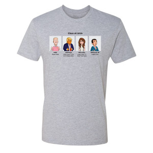 Our Cartoon President Yearbook Superlatives T-Shirt