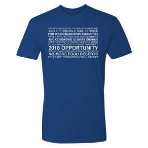 Our Cartoon President Slogan T-Shirt