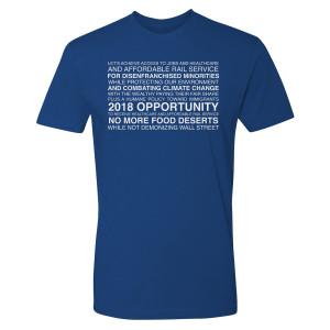 Our Cartoon President Slogan T-Shirt