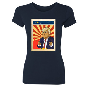 Our Cartoon President Comrade Women's Slim Fit T-Shirt