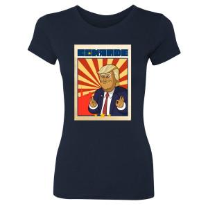Our Cartoon President Comrade Women's Slim Fit T-Shirt