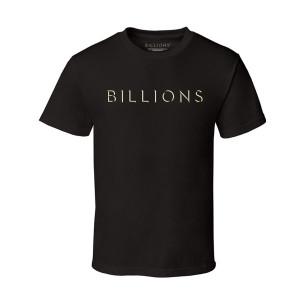 Billions Logo T-Shirt (Black)
