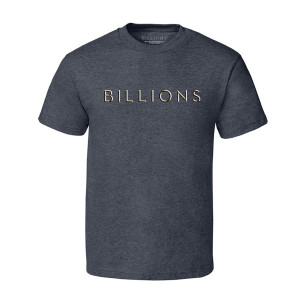 Billions Logo T-Shirt (Charcoal Heather)