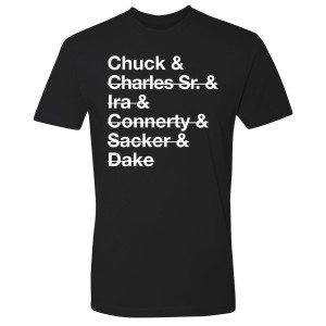 Billions Team Chuck Members T-Shirt