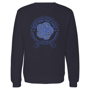Twin Peaks Blue Rose Task Force Crewneck Sweatershirt