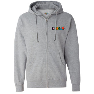 Kidding Logo Zip-Up Hoodie