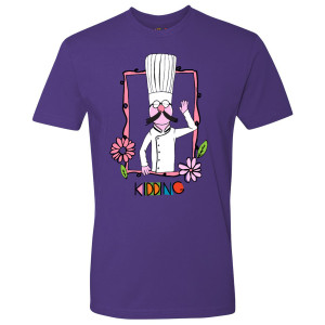 Kidding Secret Chef T-Shirt (Purple)