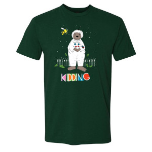 Kidding Astronotter T-Shirt (Forest Green)