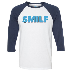 SMILF Logo Raglan T-Shirt