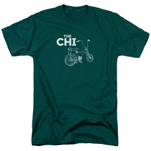 The Chi Bicycle T-Shirt (Hunter Green)