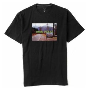 Twin Peaks Opening Title T-Shirt (Black)