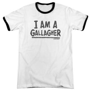 Shameless I am A Gallagher Ringer T-Shirt