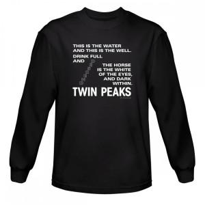 Twin Peaks Descend Long Sleeve T-Shirt