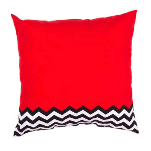 Twin Peaks Red Room Pillow [18x18]