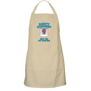 Kidding Dirty Dishes Apron