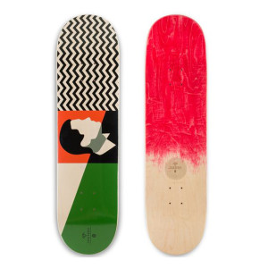 Twin Peaks Agent Cooper Skateboard Deck [Small 8.0]
