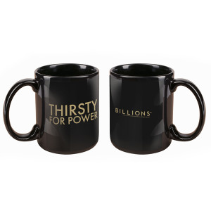Billions Thirsty for Power Mug (Black)
