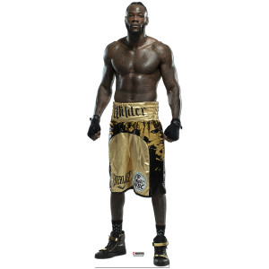 Showtime Boxing Deontay Wilder Standee