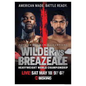 Showtime Boxing Wilder Breazeale Giclee