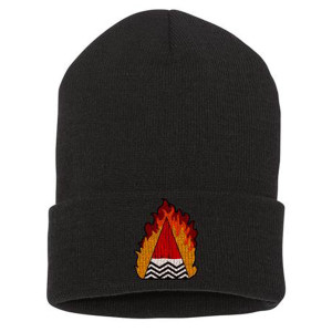 Twin Peaks Chevron Flame Beanie