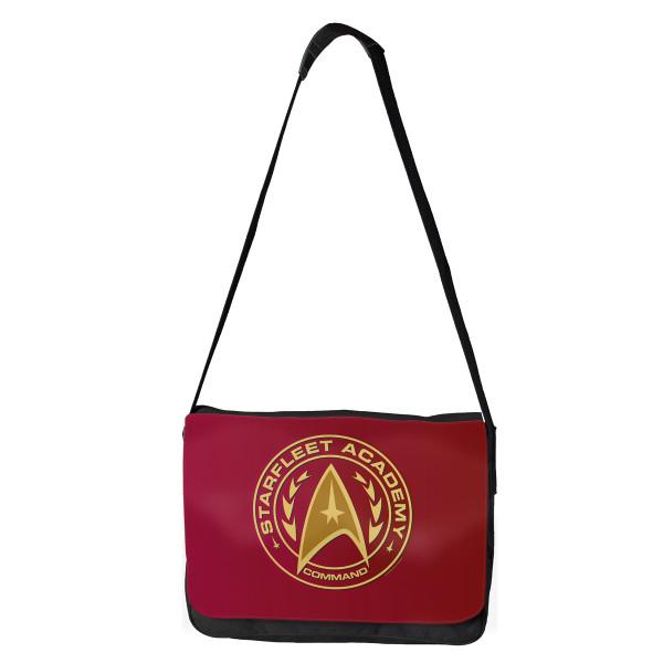Star Trek Starfleet Academy Command Shield Messenger Bag Shop The