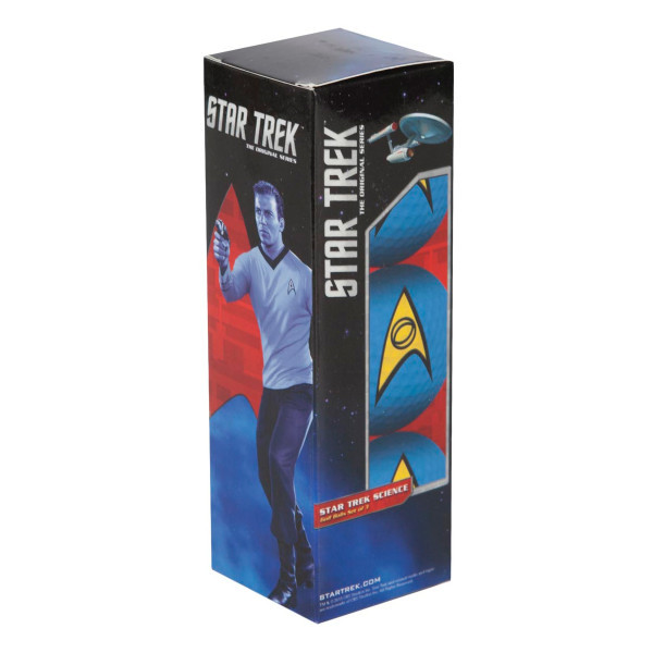 Star Trek Science Golf Blue Set Of 3