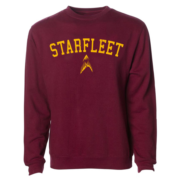 8b115be9c7b5 Star Trek Starfleet Academy Phoenix Shield Crewneck Pullover