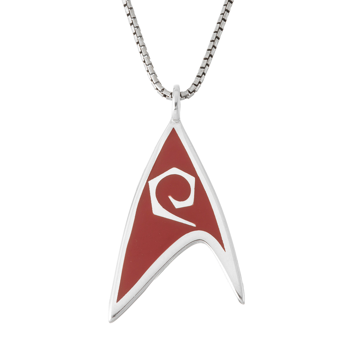 Star Trek Rocklove Delta Enamel Pendant Engineering