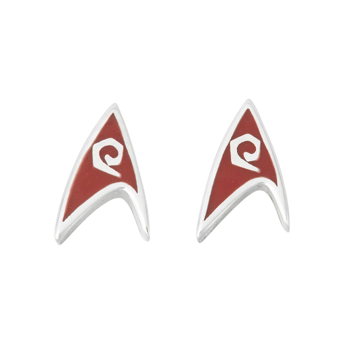 Star Trek Rocklove Delta Enamel Stud Earring Engineering