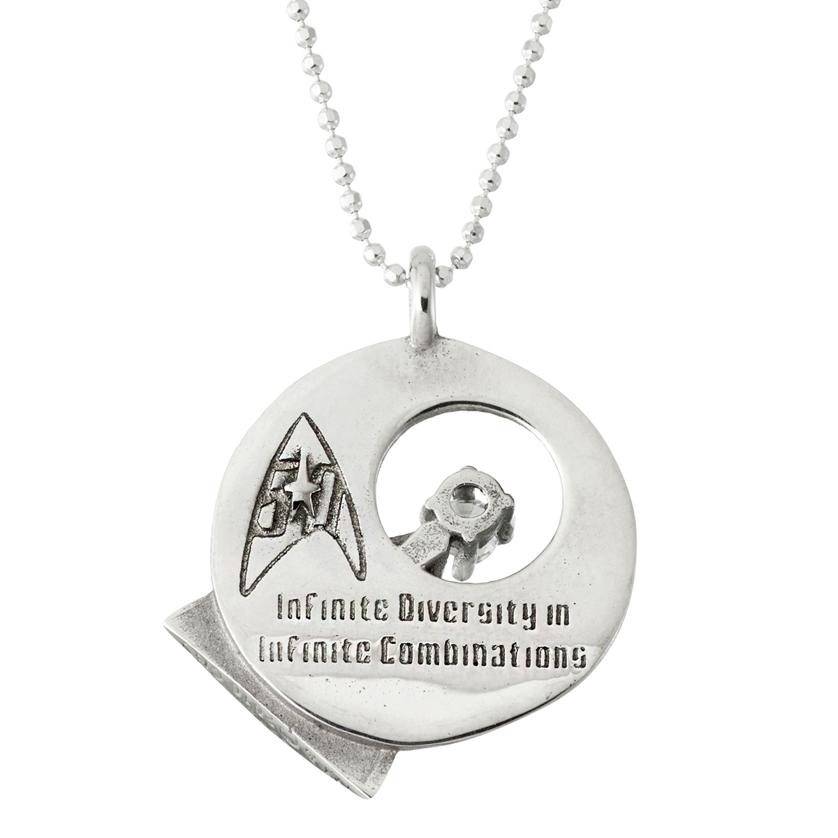 Star Trek Rocklove Idic Necklace