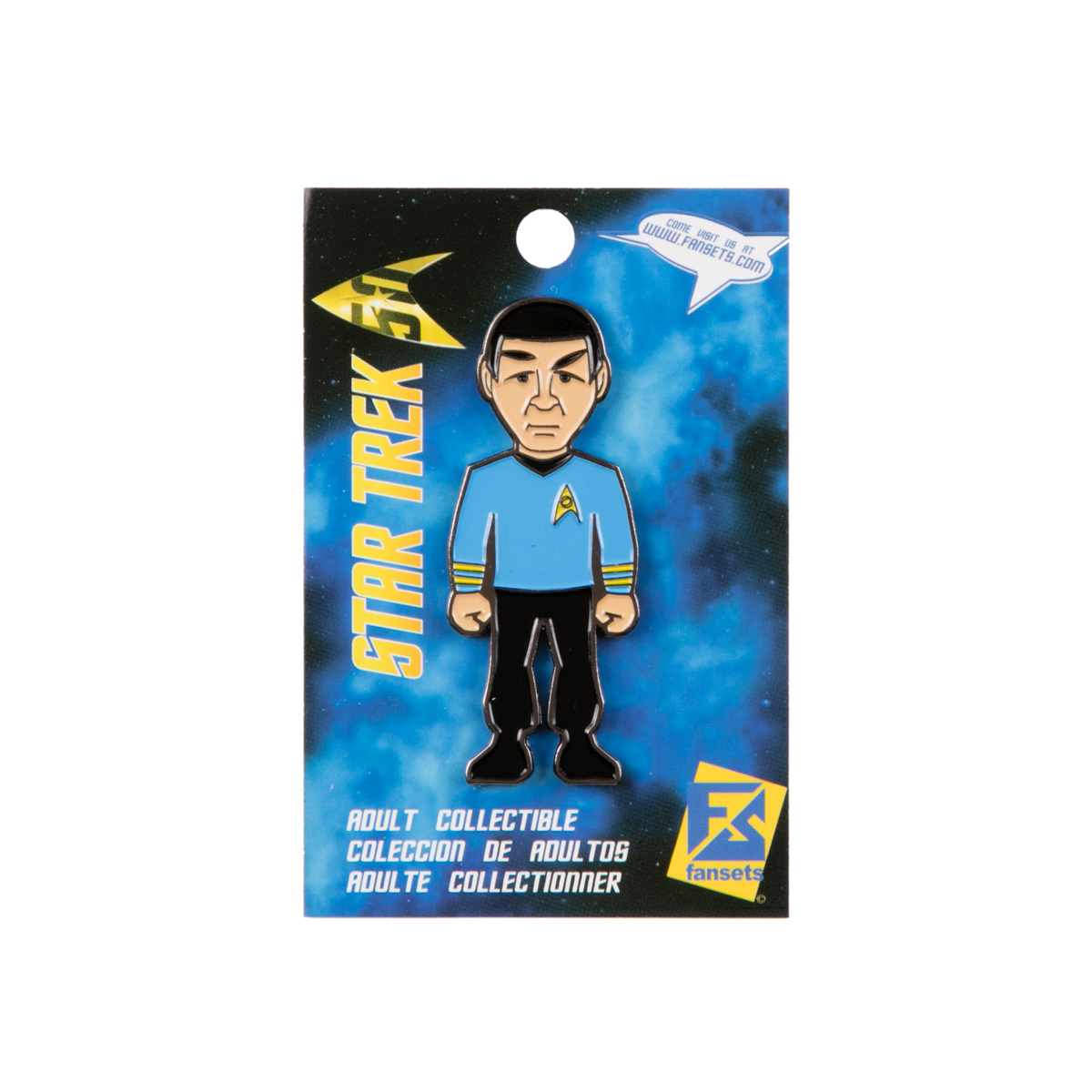 Star Trek Mr. Spock  Collector's Pin