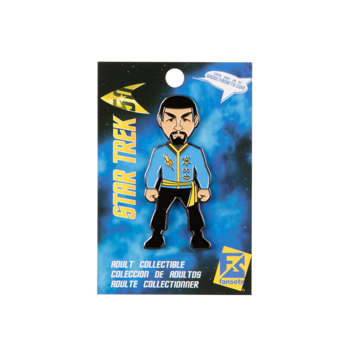 Star Trek Mirror Universe Spock Collector's Pin