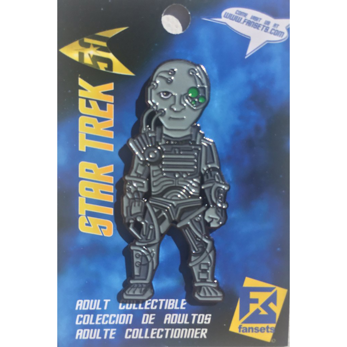 Star Trek The Next Generation Borg  Collector's Pin
