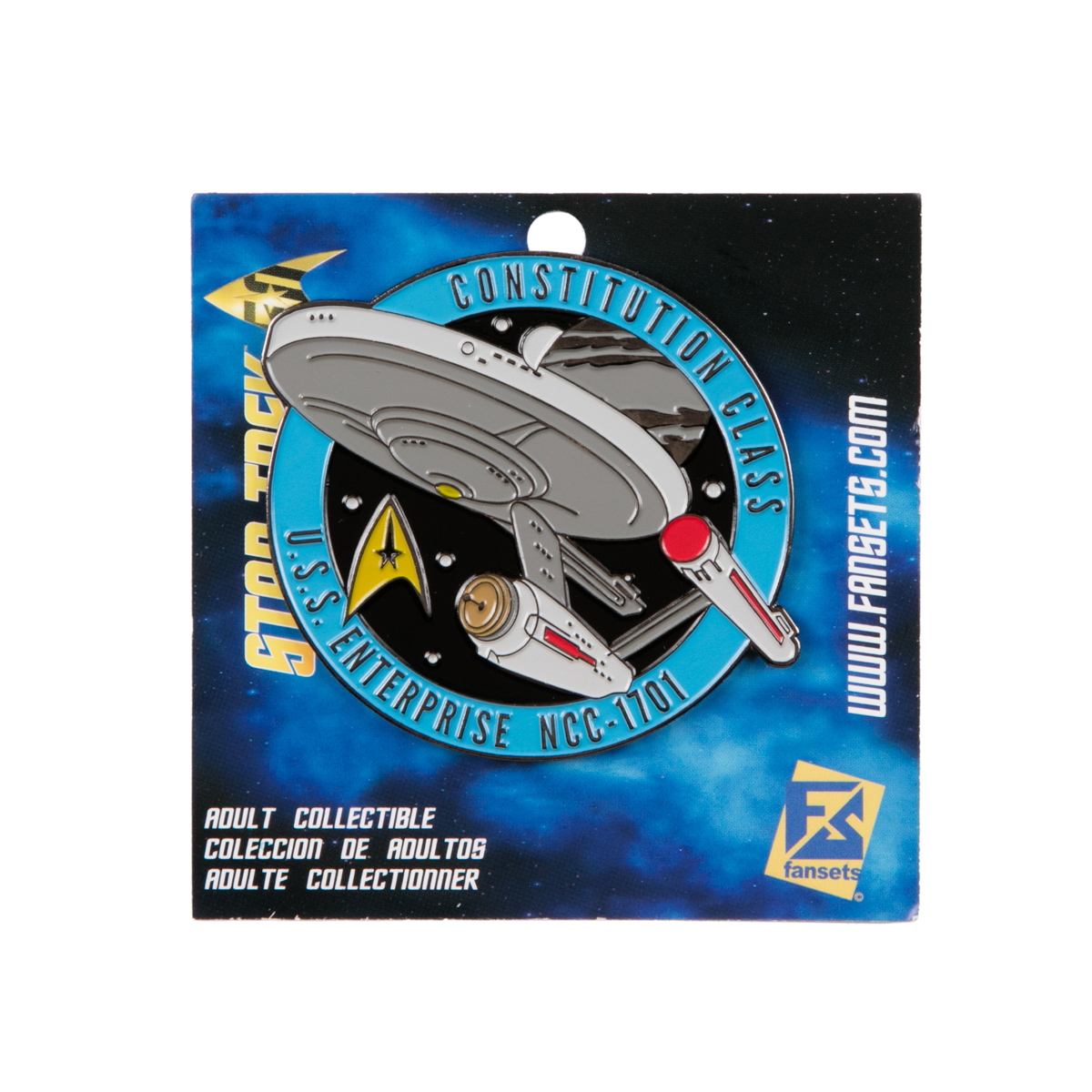 Star Trek Enterprise 1701 Collector's Pin