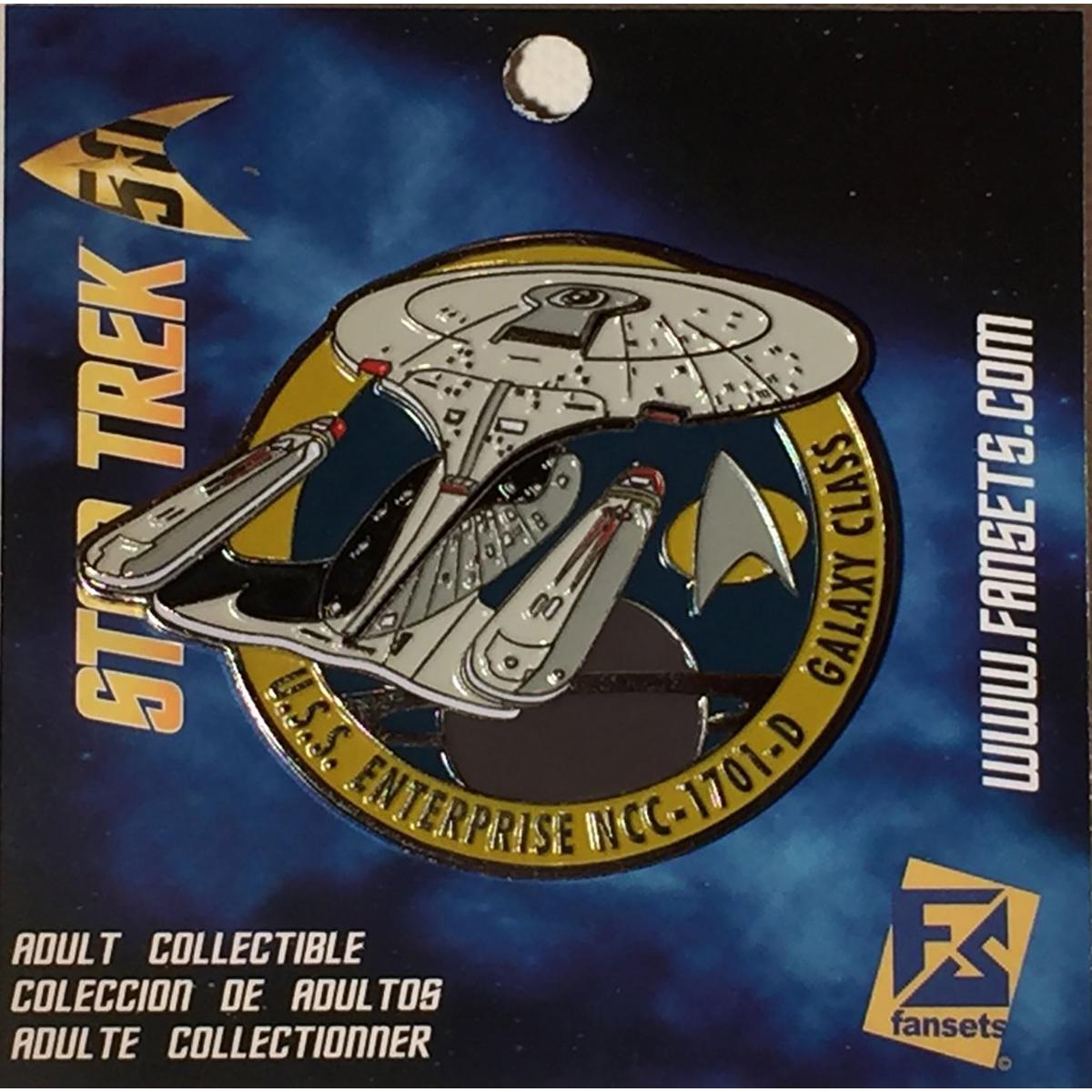 Star Trek The Next Generation Enterprise NCC 1701-D Collector's Pin