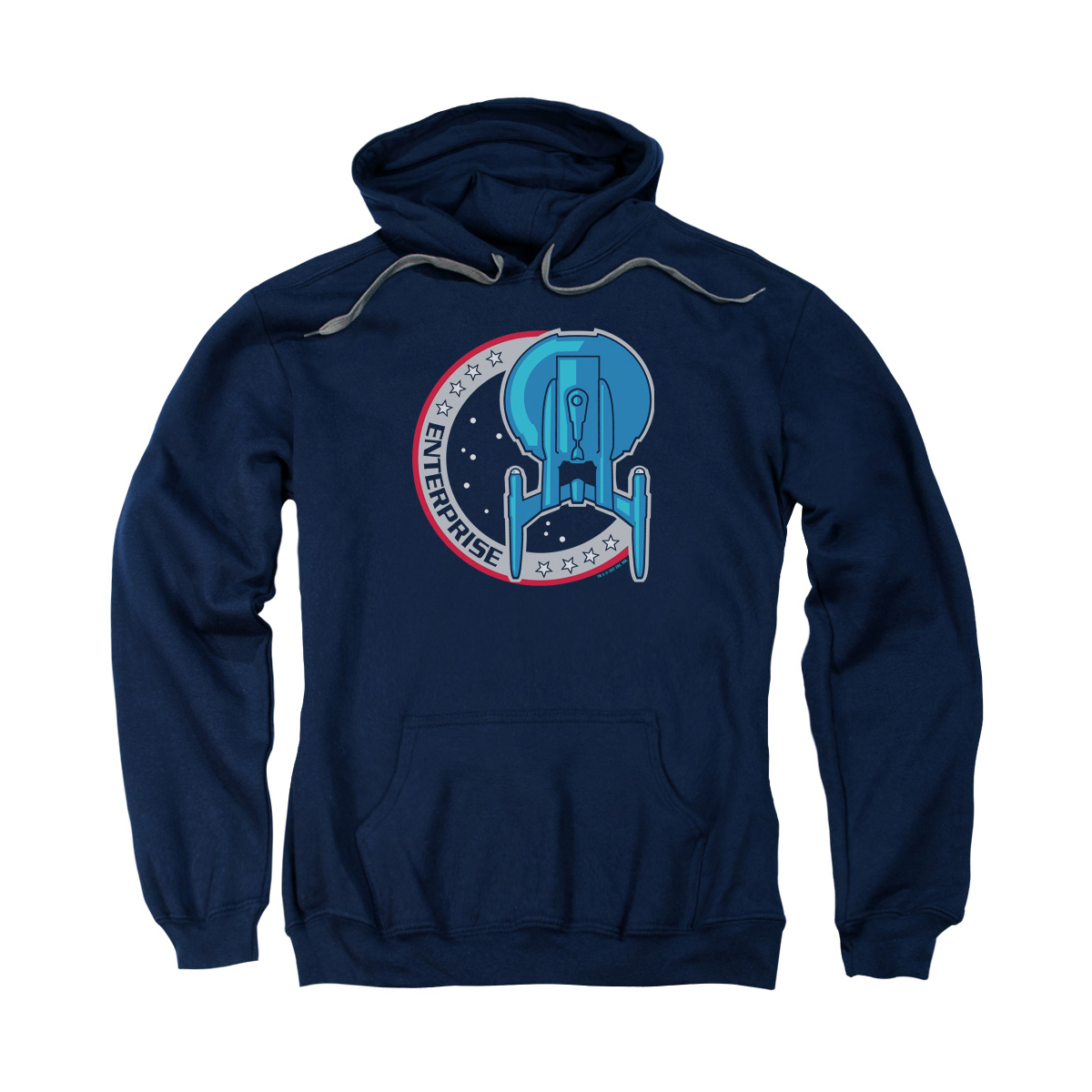Star Trek Enterprise Patch Hoodie