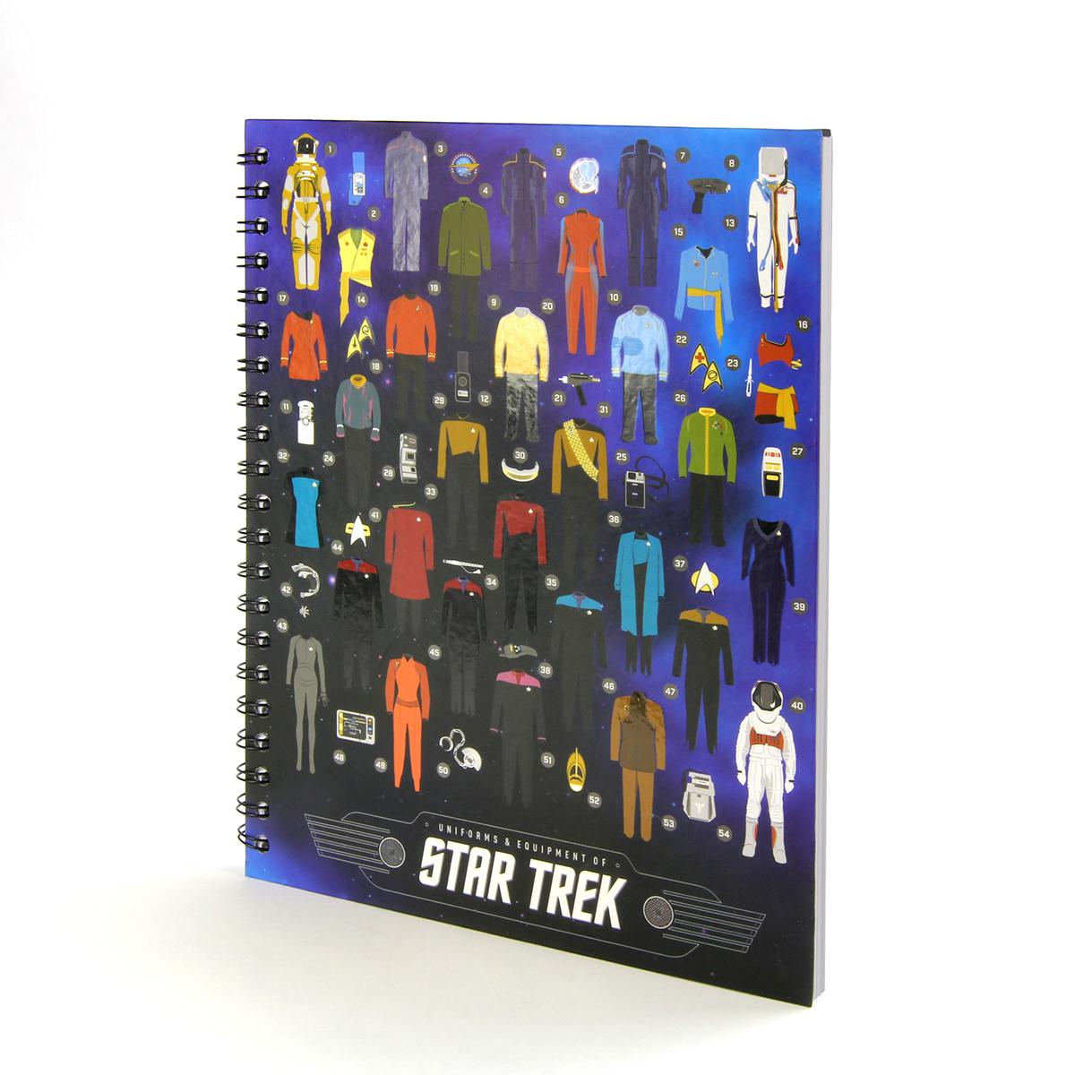 Star Trek Uniforms & Equipment Notebook