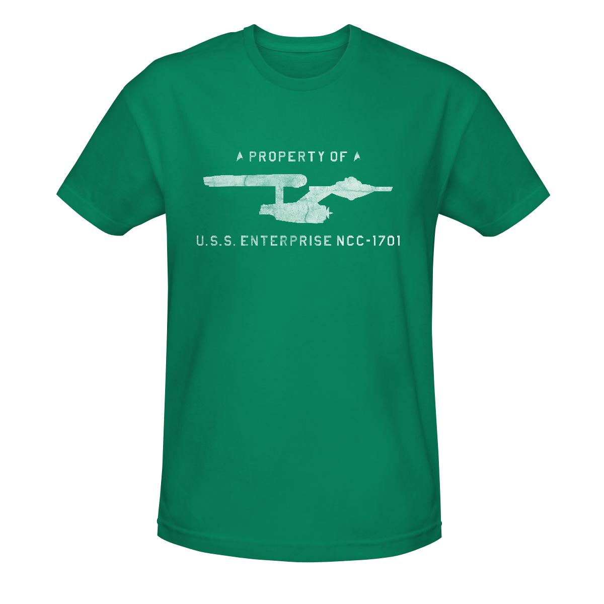 Star Trek Property of the Enterprise T-Shirt