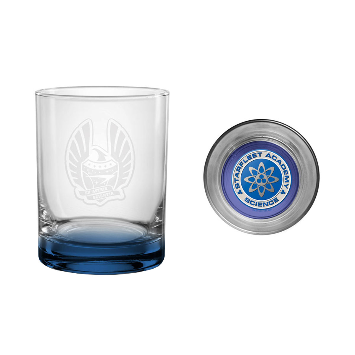 Star Trek Starfleet Academy Science Rocks Glass