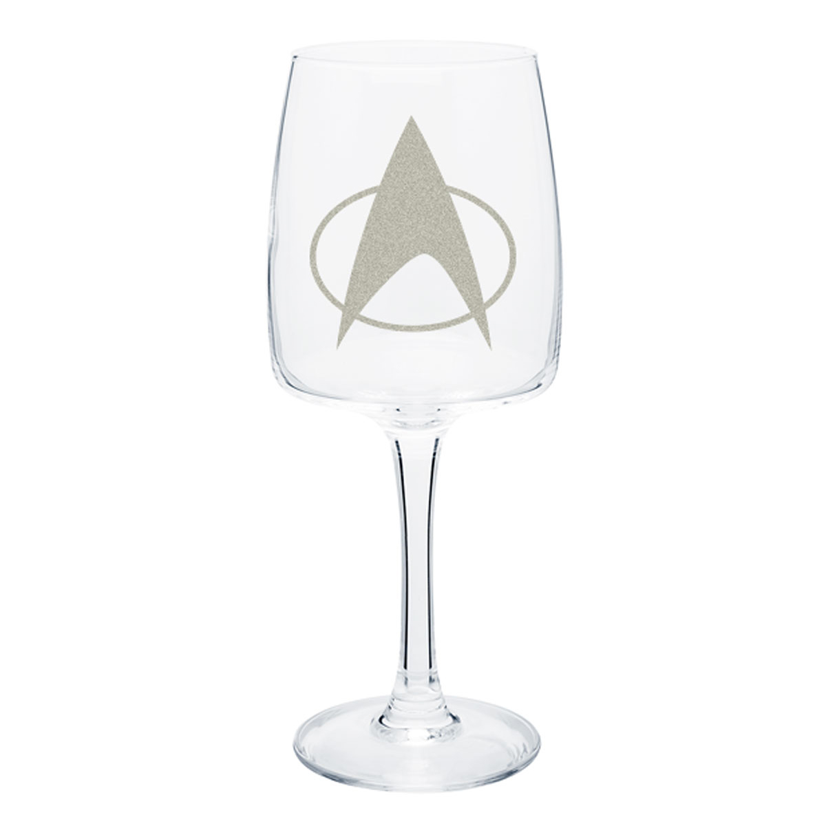 Star Trek The Next Generation Delta Wine Glass