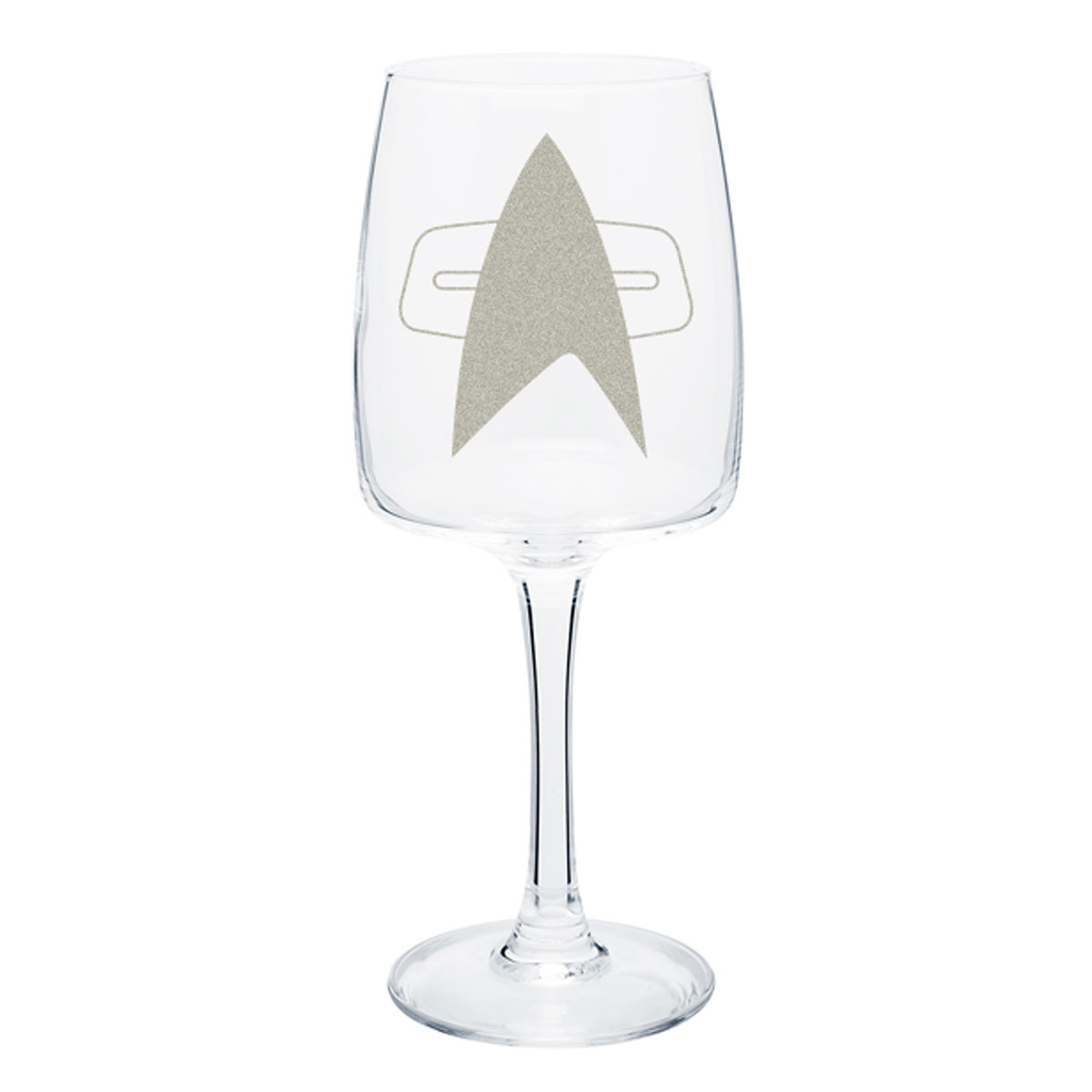 Star Trek Voyager Delta Wine Glass