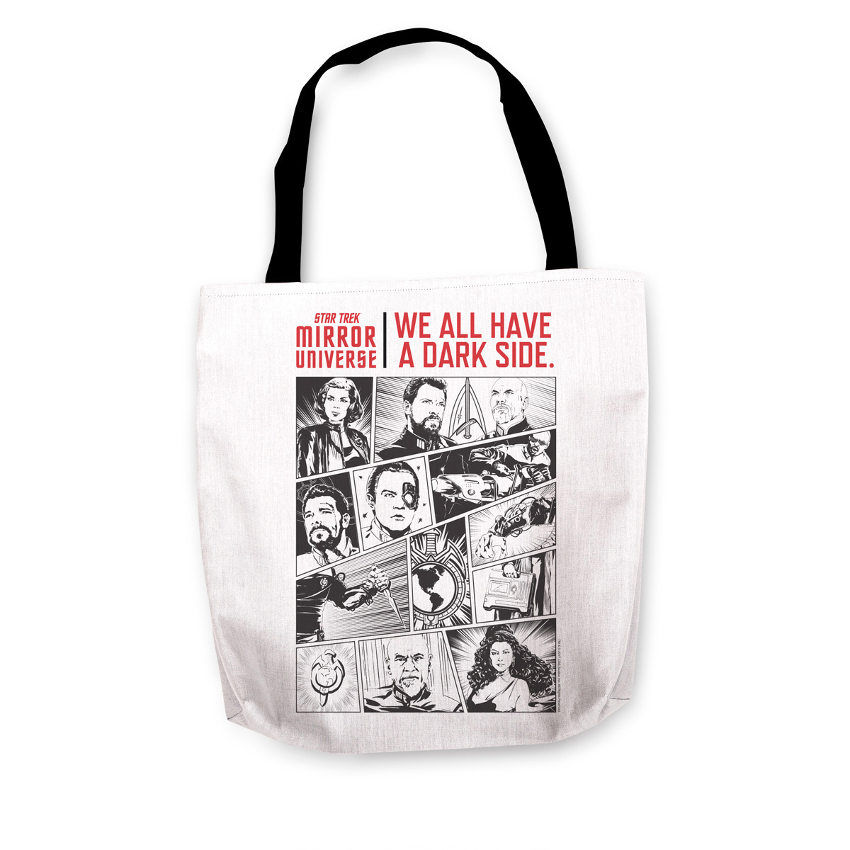 Star Trek Mirror Universe Darkside Tote