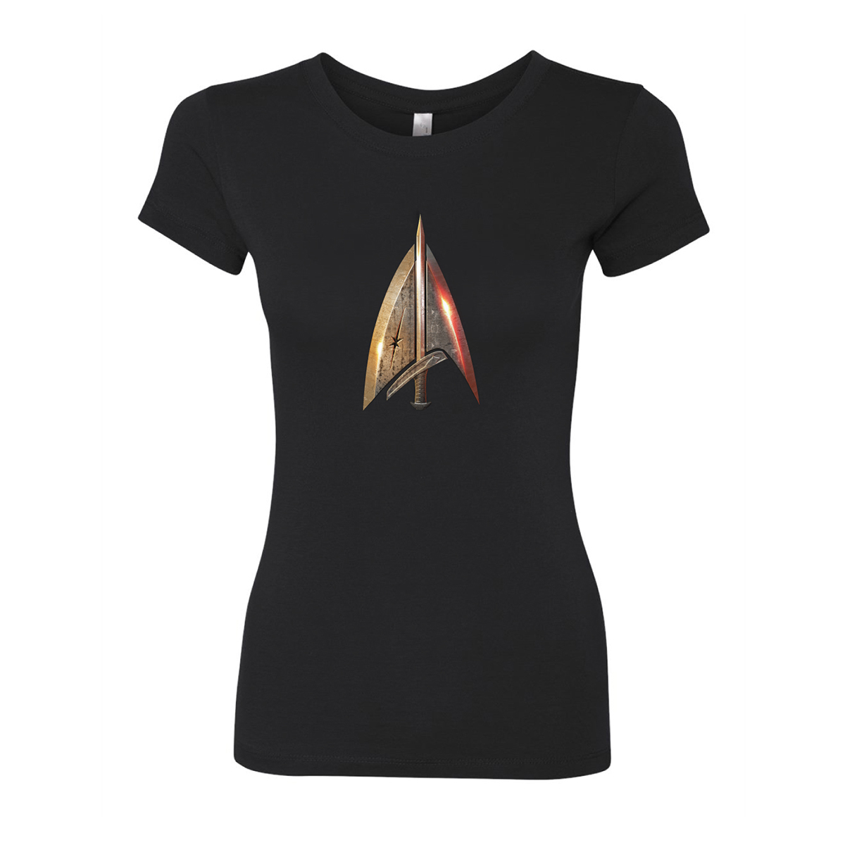 Star Trek Mirror Universe Terran Delta Women's Slim Fit T-Shirt
