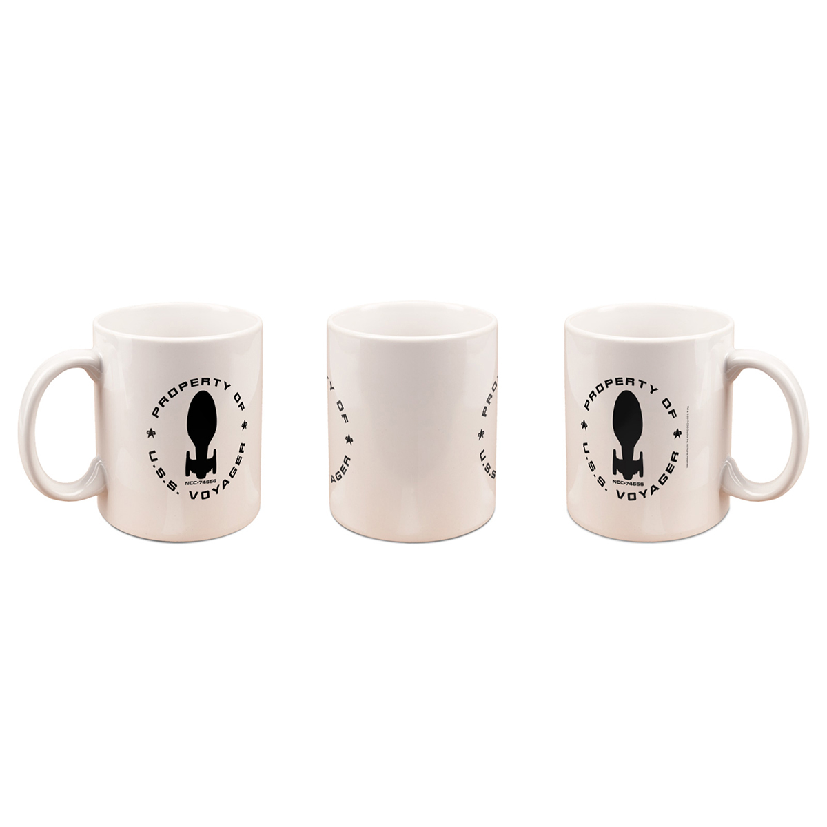 Star Trek Voyager Property of 11oz. Mug [White]